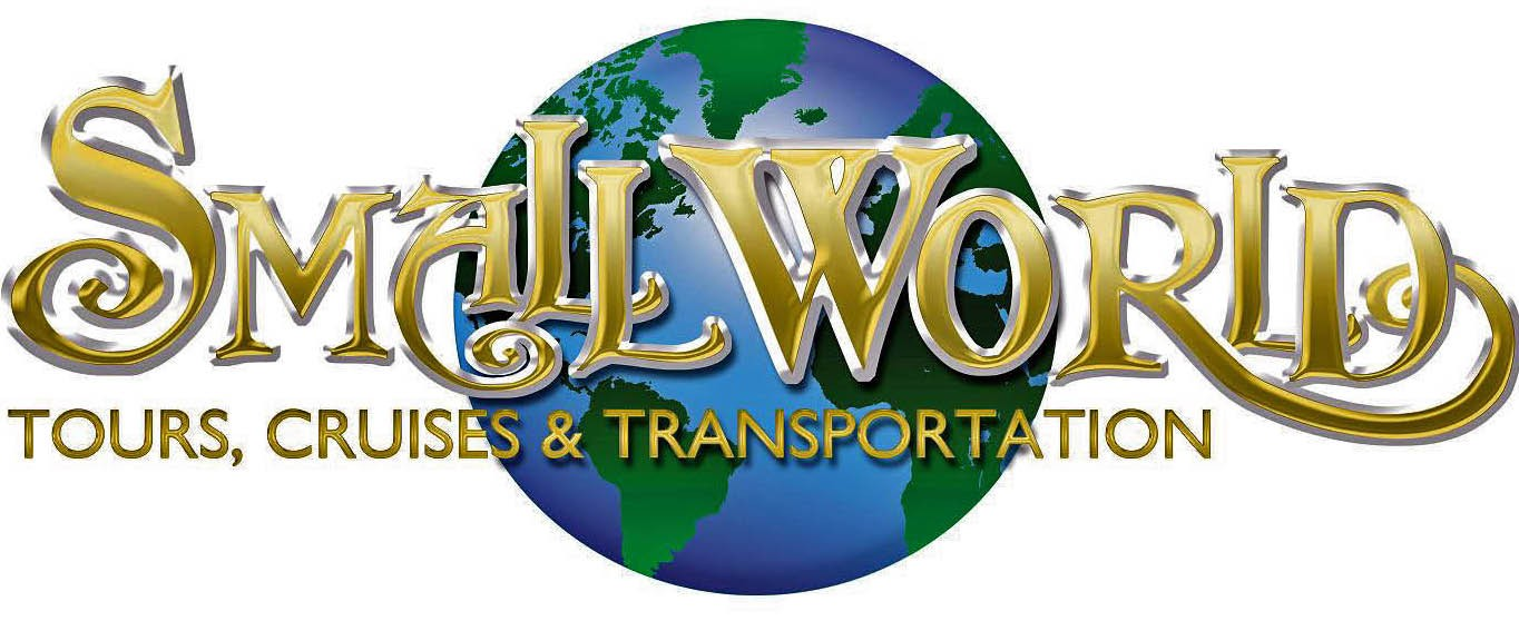 Small World Tours, Cruises, and Transportation Logo