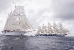 Ships - Royal Clipper with Star Clipper/Flyer